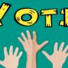 User experience voting poll